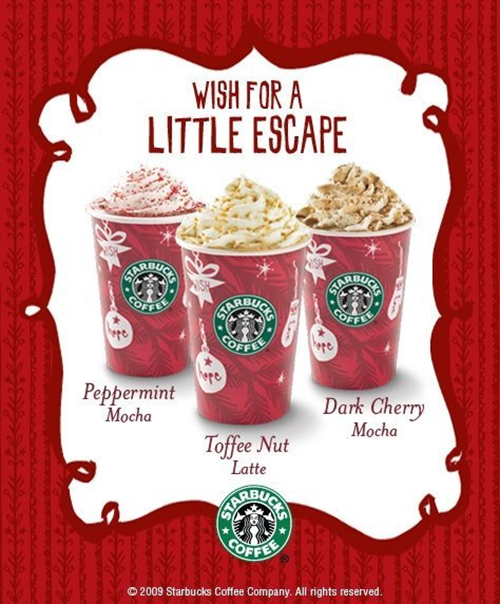 Starbucks Holiday Coffee Treats
